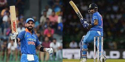Indian players position in the latest ICC rankings for T20I