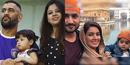 Rare photos of cricketers with their family