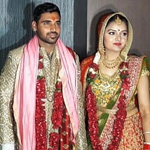 Bhuvneshwar Kumar And Nupur Nagar's Wedding