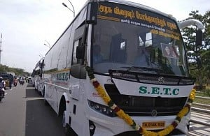 Complete fare details of the AC sleeper buses introduced by SETC