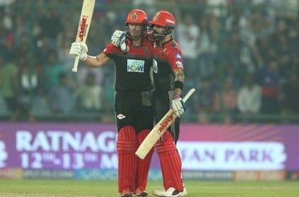 AB de Villiers finishes with style, RCB beat DD by 5 wickets