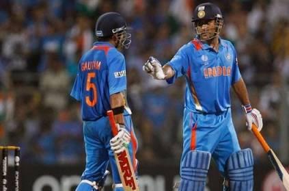 Gautam Gambhir retires from International Cricket