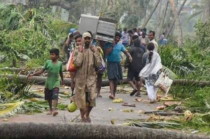 Total 57 people have died,131 houses damaged due to TitliCyclone Odish