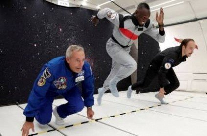 Usain Bolt has Proved that He Can Win Every Race on Land or in Space