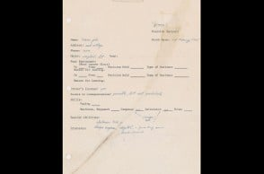 Steve Jobs' pre-Apple job application to be auctioned