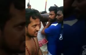 Actor Bharani At Tiruchendur Soorasamharam